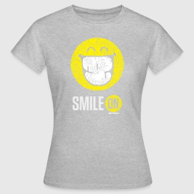 SmileyWorld Sourire À Pleines Dents Smile On - T-shirt Femme