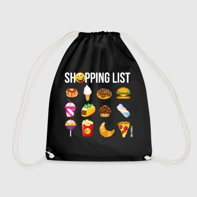 SmileyWorld Shopping List - Gymtas