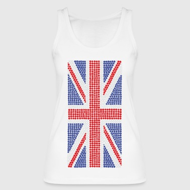 Super Dots Union Jack Top - Women's Organic Tank Top by Stanley & Stella