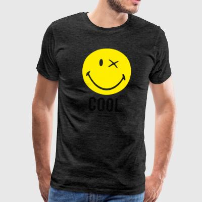 SmileyWorld Cool Smiley - Men's Premium T-Shirt
