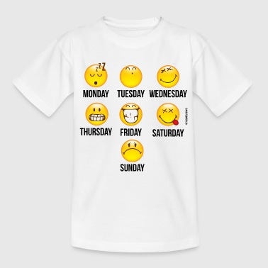 SmileyWorld Mood Calender - Teenage T-shirt