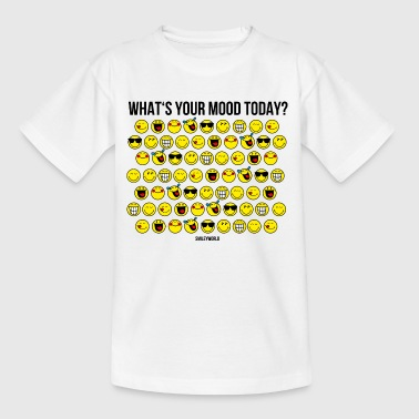 SmileyWorld What's Your Mood Today? - Camiseta adolescente