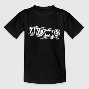 SmileyWorld Awesome Stamp - Teenage T-shirt