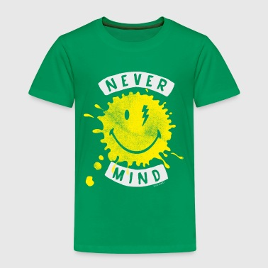 SmileyWorld Never Mind Splash Smiley - Kinder Premium T-Shirt