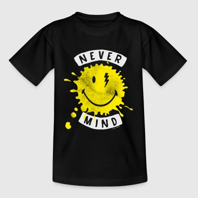 SmileyWorld Never Mind Splash Smiley - Teenage T-shirt