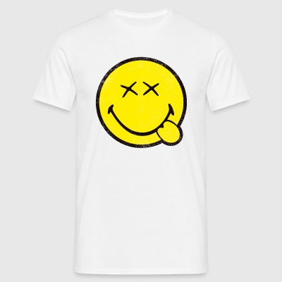 SmileyWorld Classic Smiley - Herre-T-shirt