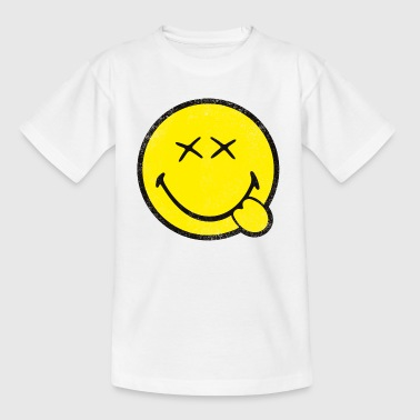 SmileyWorld Classic Smiley - Camiseta adolescente