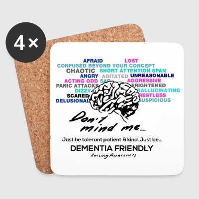 Just Be...Dementia Friendly - Coasters (set of 4)