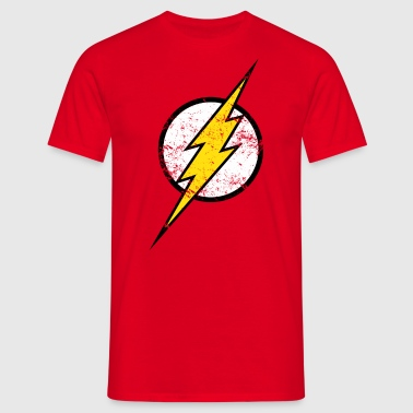 The Flash Logo vintage - Männer T-Shirt