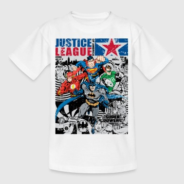 Justice League Comic Cover - Teenager-T-shirt