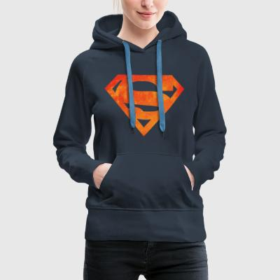 Justice League Superman Logo - Naisten premium-huppari
