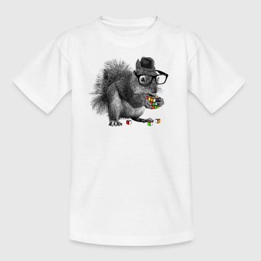Rubik's Squirrel - T-shirt tonåring