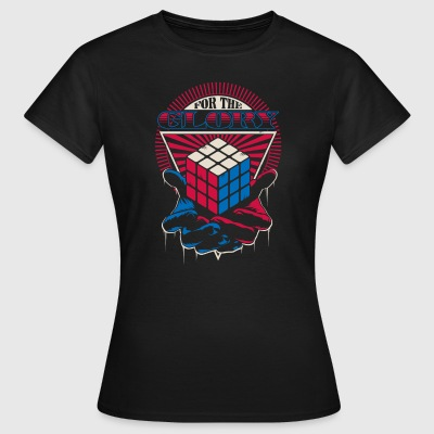 Rubik's For The Glory - Vrouwen T-shirt