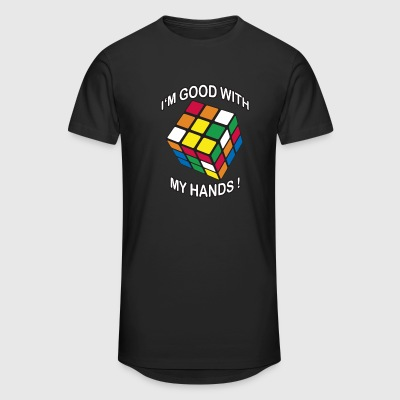 Rubik's I'm good with my Hands - Mannen Urban longshirt