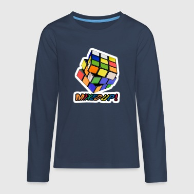 Rubik's Mixed Up! - T-shirt manches longues Premium Ado