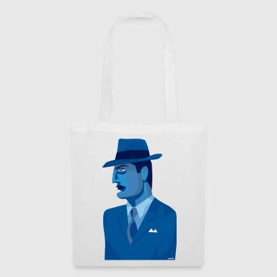Man in a Blue suit - Tote Bag