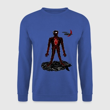Le cyclope surfer. - Sweat-shirt Homme