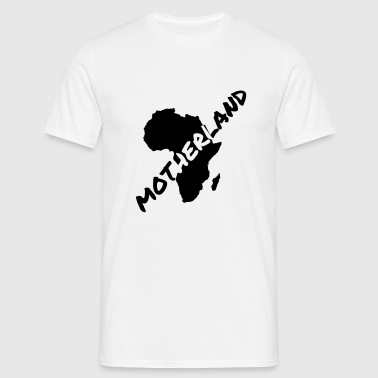 Motherland White T - Men's T-Shirt