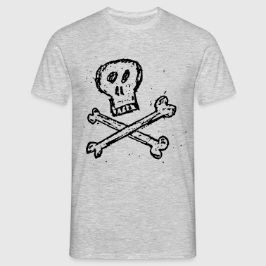 Skull and Bones - Männer T-Shirt