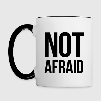 Tazza NOT AFRAID - Tazze bicolor