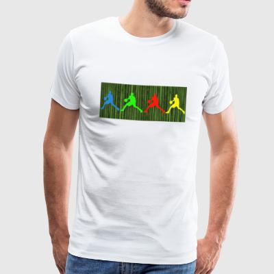 Bball Jungle T-Shirt - Männer Premium T-Shirt