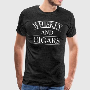 Whiskey & Cigars - Männer Premium T-Shirt