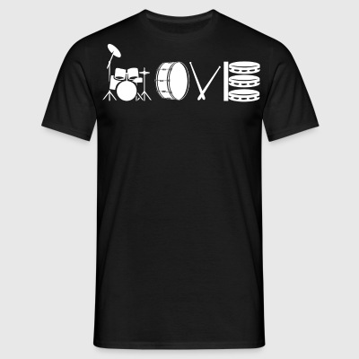Love drum - Men's T-Shirt
