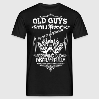 Old guys still ROCK - Men's T-Shirt