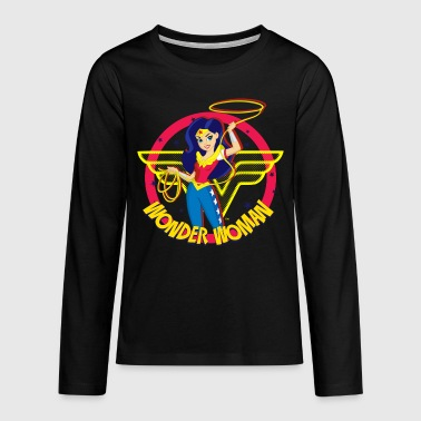 DC Super Hero Girls Wonder Woman Magic Lasso - Långärmad premium-T-shirt tonåring