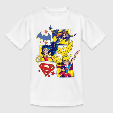 DC Super Hero Girls Batgirl Wonder Woman Supergirl - Teenager T-Shirt