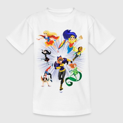 DC Super Hero Girls Super-Héroïnes Attaque - T-shirt Ado