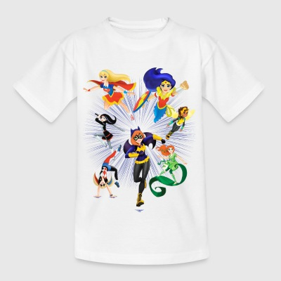 DC Super Hero Girls Superheldinnen Attacke - Teenager T-Shirt