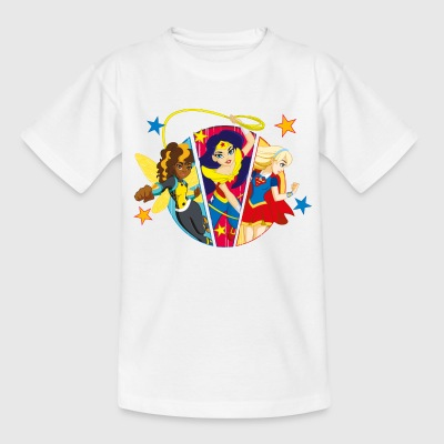 DC Super Hero Girls Batgirl Wonder Woman Supergirl - T-shirt Ado