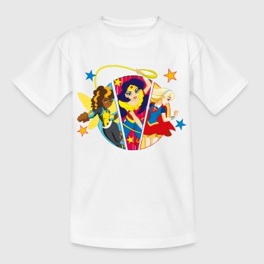 DC Super Hero Girls Batgirl Wonder Woman Supergirl - Kinder T-Shirt