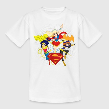 DC Super Hero Girls Batgirl Wonder Woman Supergirl - T-shirt barn