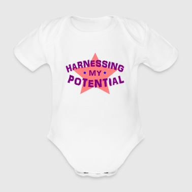 Harnessing my Potential - Organic Short-sleeved Baby Bodysuit