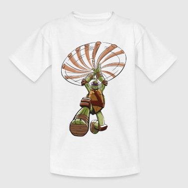 TMNT Turtles Donatello Greift An - Teenager T-Shirt