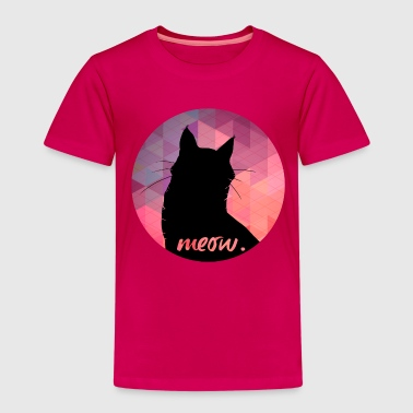 Animal Planet Luchs Silhouette Katze Meow - Kinder Premium T-Shirt