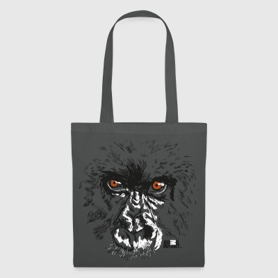 Animal Planet Primates Apes Gorilla Portrait - Tote Bag
