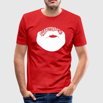 Baardtekracht - slim fit T-shirt