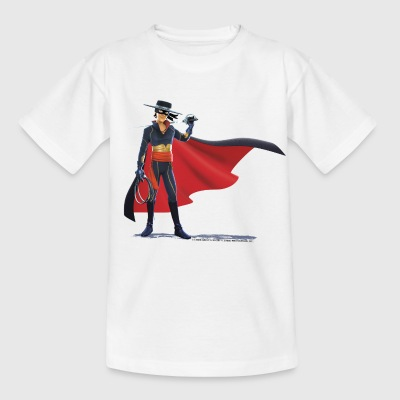 Zorro The Chronicles With Sword And Whip - Kids' T-Shirt