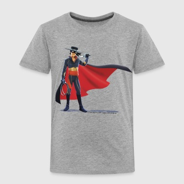 Zorro The Chronicles With Sword And Whip - Børne premium T-shirt