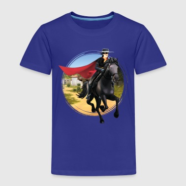 Zorro The Chronicles Riding Horse Tornado - Børne premium T-shirt