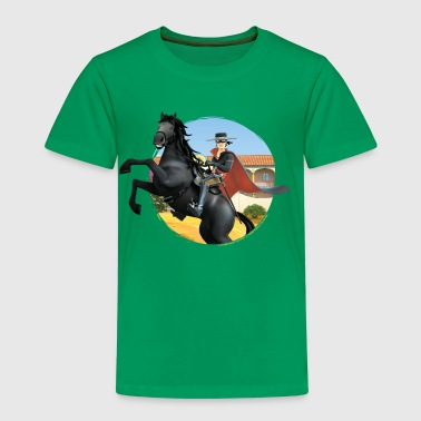 Zorro The Chronicles Ritt Auf Pferd Tornado - Kinder Premium T-Shirt