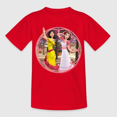 Zorro The Chronicles Ines And Carmen Dancing - Børne-T-shirt