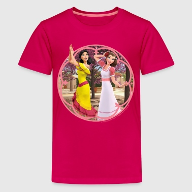 Zorro The Chronicles Ines And Carmen Dancing - Camiseta premium adolescente