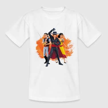 Zorro The Chronicles Ines Bernardo Don Diego - Camiseta adolescente