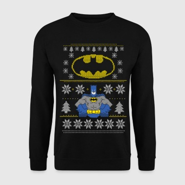 DC Comics Batman Noël Avec Logo - Sweat-shirt Homme
