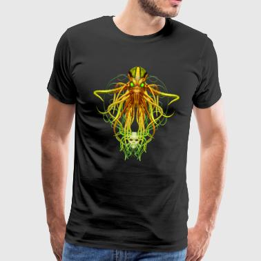 Cthulhu No.4 Men's Premium Steampunk T-Shirt - Men's Premium T-Shirt