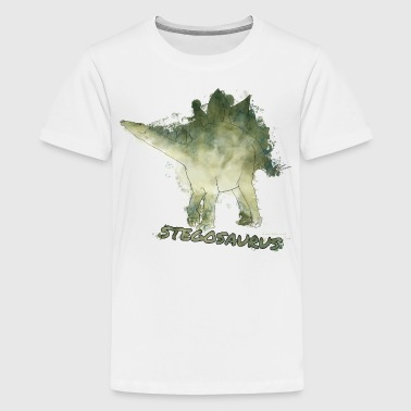 Animal Planet Dinosaurier Stegosaurus - Teenager Premium T-Shirt